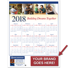 2018 customizable marketing calendar for real estate agents