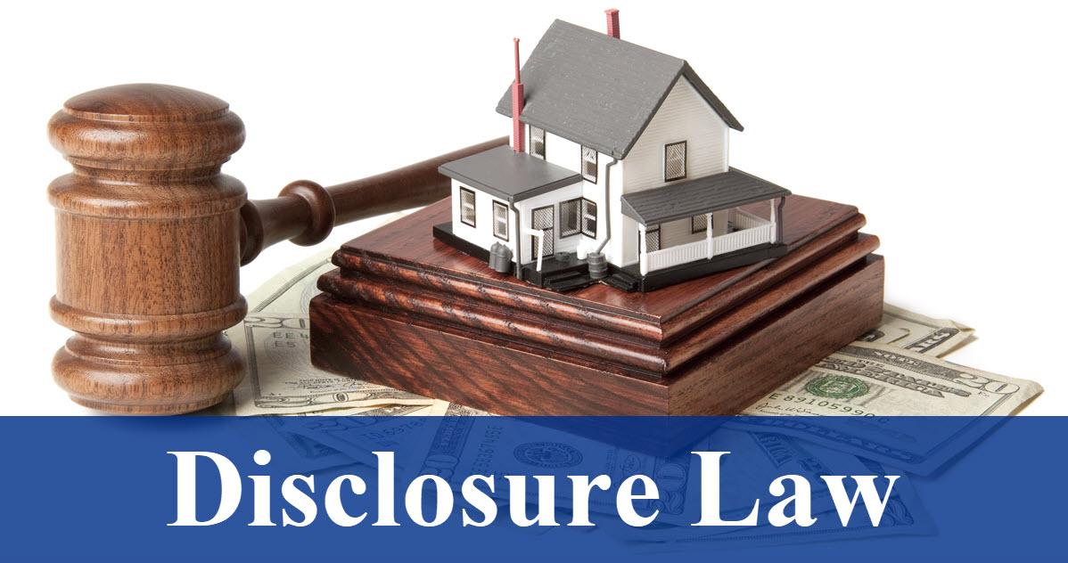 Disclosure Law