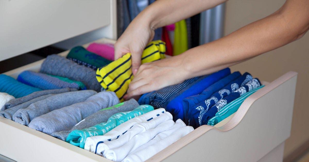 Organizing Dresser