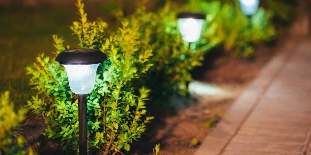 Solar powered outdoor lighting aloadofball Images
