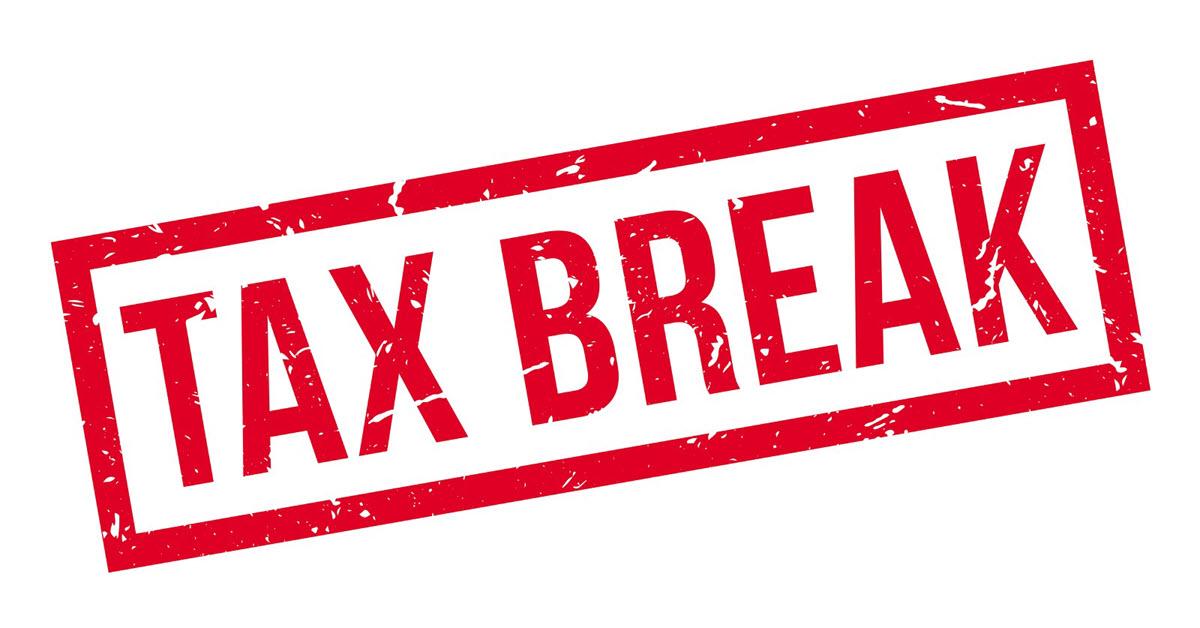 Tax Break Stamp
