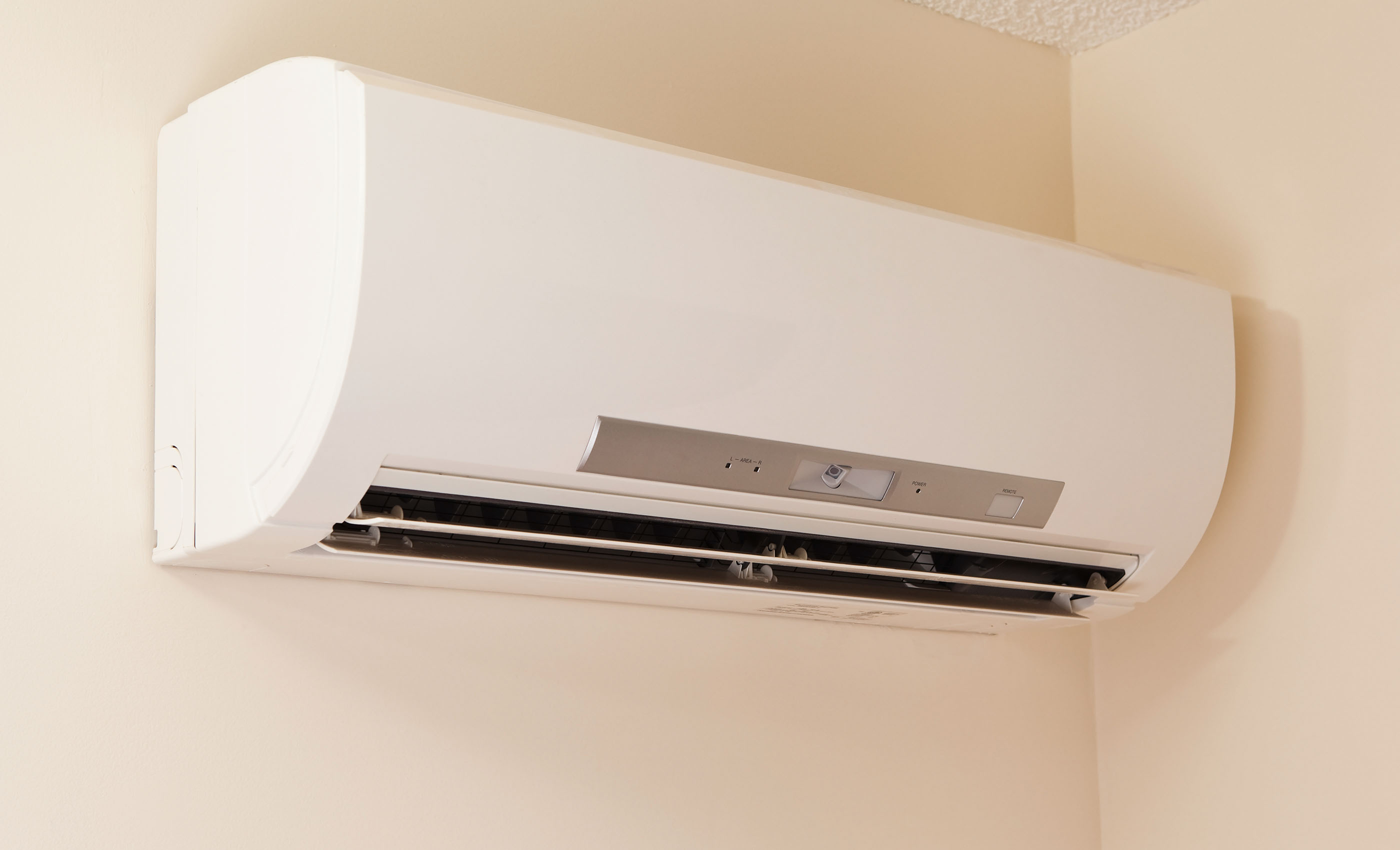 A Mini Split Ductless Air Conditioning System.